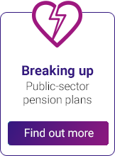 Breakingup Public-sector pension plans - Find out more!