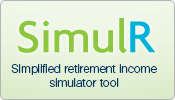 SimulR - Simplified retirement income simulator tool