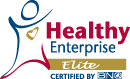 Healthy Enterprise - Elite. Certified by BNQ